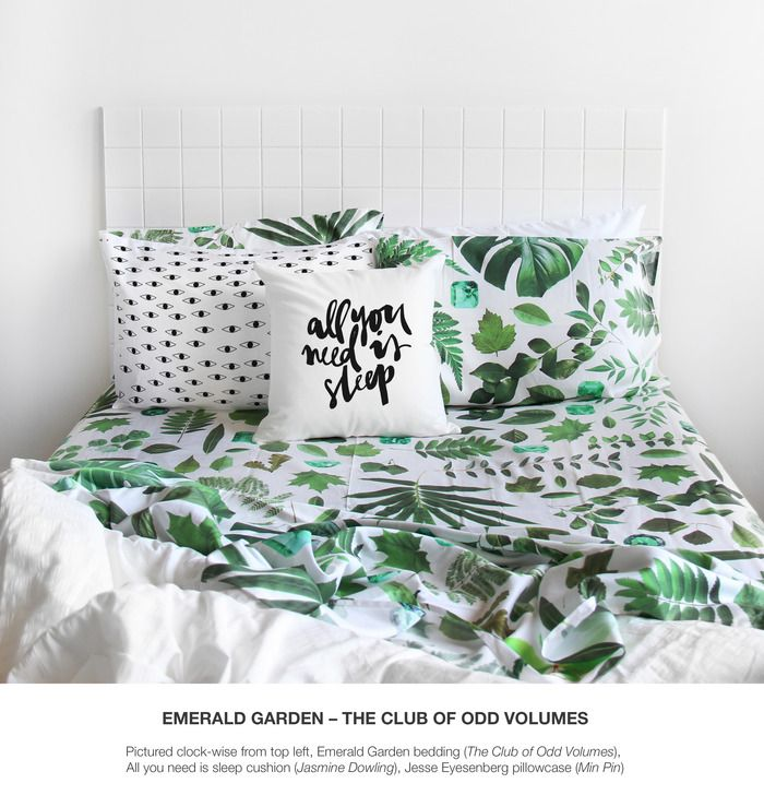 The Odd Collective bedding by The Club of Odd Volumes — Kickstarter