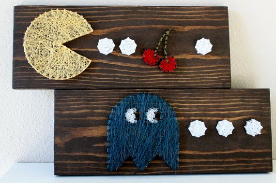 Limited Edition String Art featuring Retro by EvoLovelyDesigns, $40.00