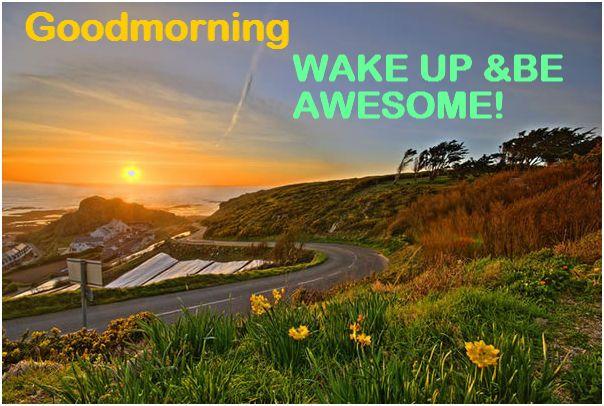 awesome morning