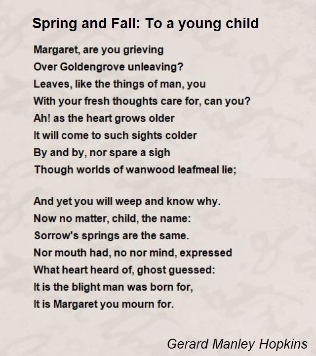 margaret are actually most people grieving poem