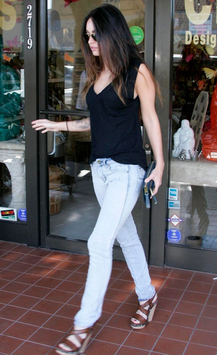 megan fox casual style outfit inspiration pinterest