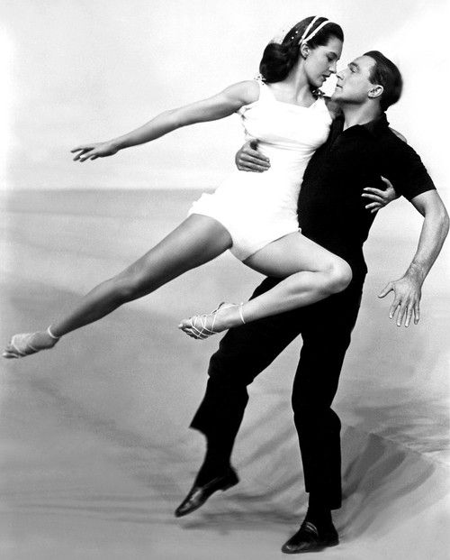 """Gene Kelly & Cyd Charisse -- """"Singin' in the Rain"""" (1952) // watched this movie all the time when I was kid (still do!), and I had a whole side story to go along with this particular dance, about a man whose wife had died and he sees her ghost everywhere"""
