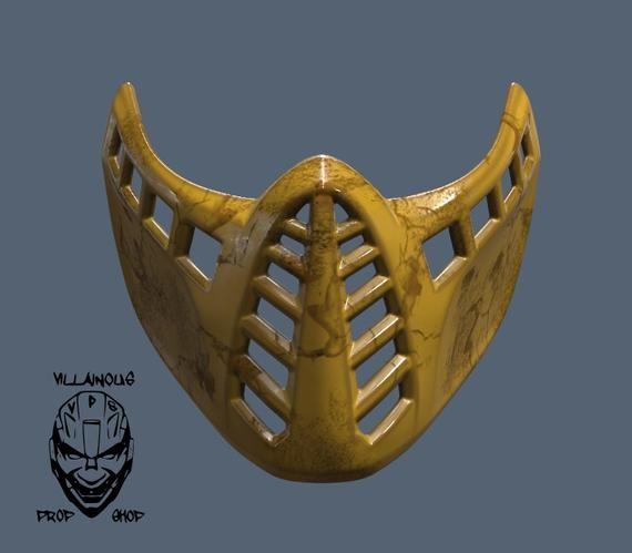 Mortal Kombat 11 Classic Scorpion/Sub Zero Mask