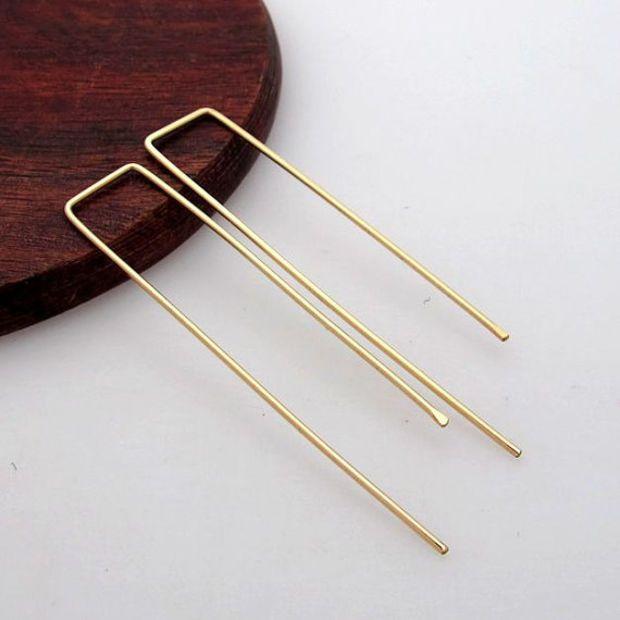 Gold Threader Earrings