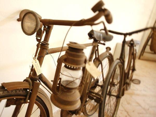 Bicicletta d'epoca a San Benedetto Po