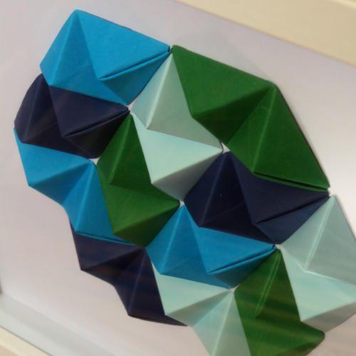 Geometric Wall Art - 'Sea'