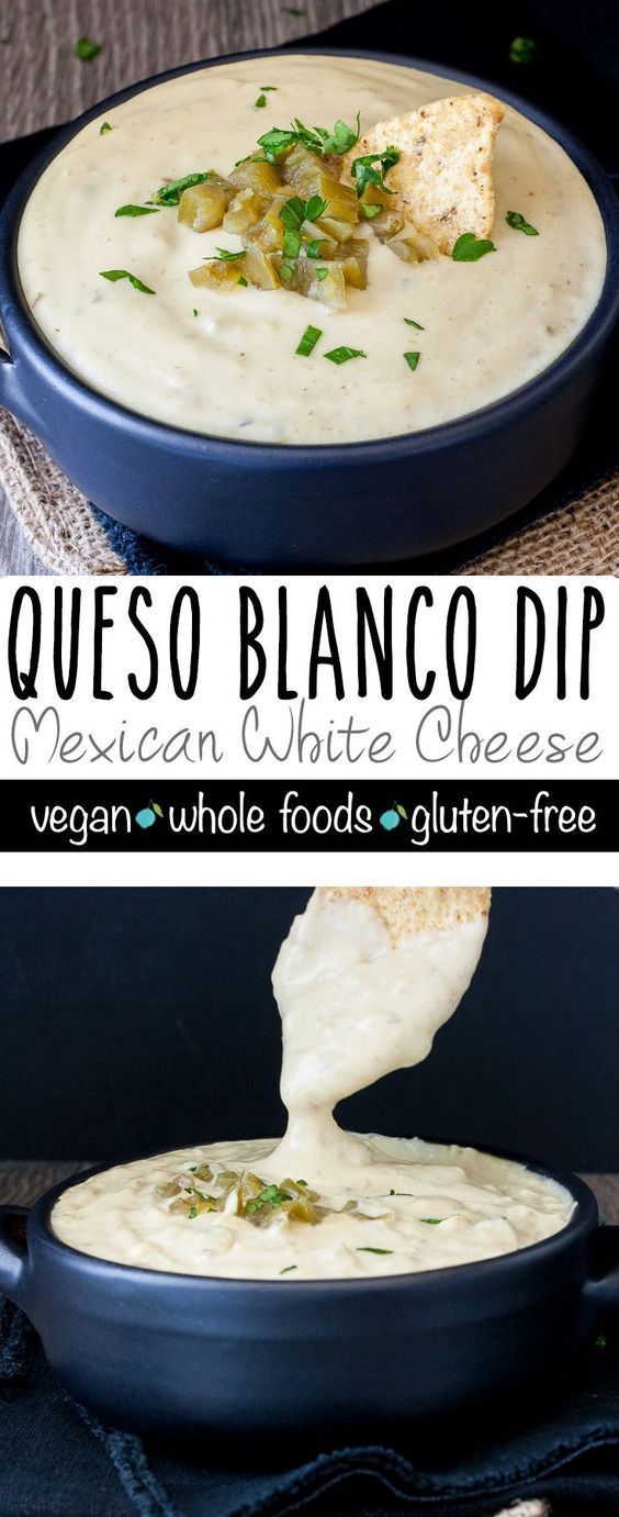 Vegan Queso Blanco Dip (Mexican White Cheese) | www.veggiesdontbite.com | #vegan #wholefoods #plantbased #glutenfree