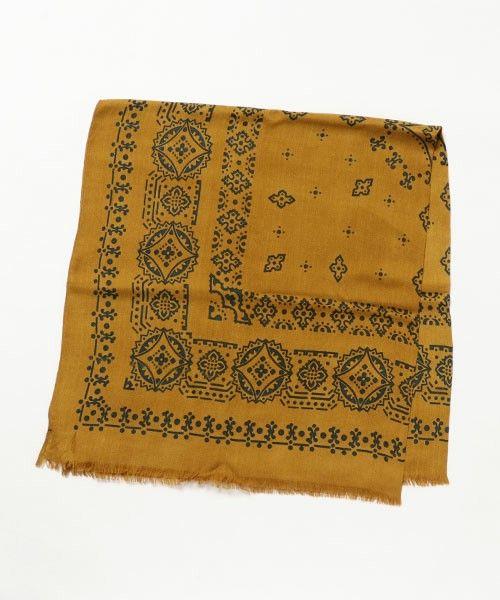 【ZOZOTOWN|送料無料】manipuri(マニプリ)のマフラー/ショール「【manipuri】バンダナ柄スカーフ」(BYN6608)をセール価格で購入できます。