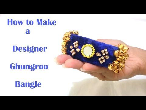 How to make Beaded Saree Border | Saree Tassels | Saree Edging at Home | Tutorial - YouTube