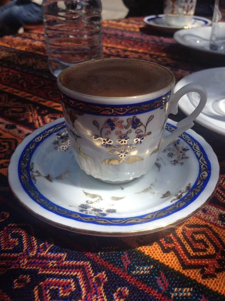 Turkish coffee in Istanbul.