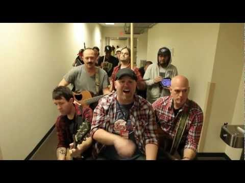"""Justin Bieber """"Baby"""" cover by MercyMe, Hawk Nelson, Disciple, Tenth Avenue North, LeCrae, Sidewalk Prophets and Rend Collective Experiment. This is the funniest thing I've seen all day haha"""