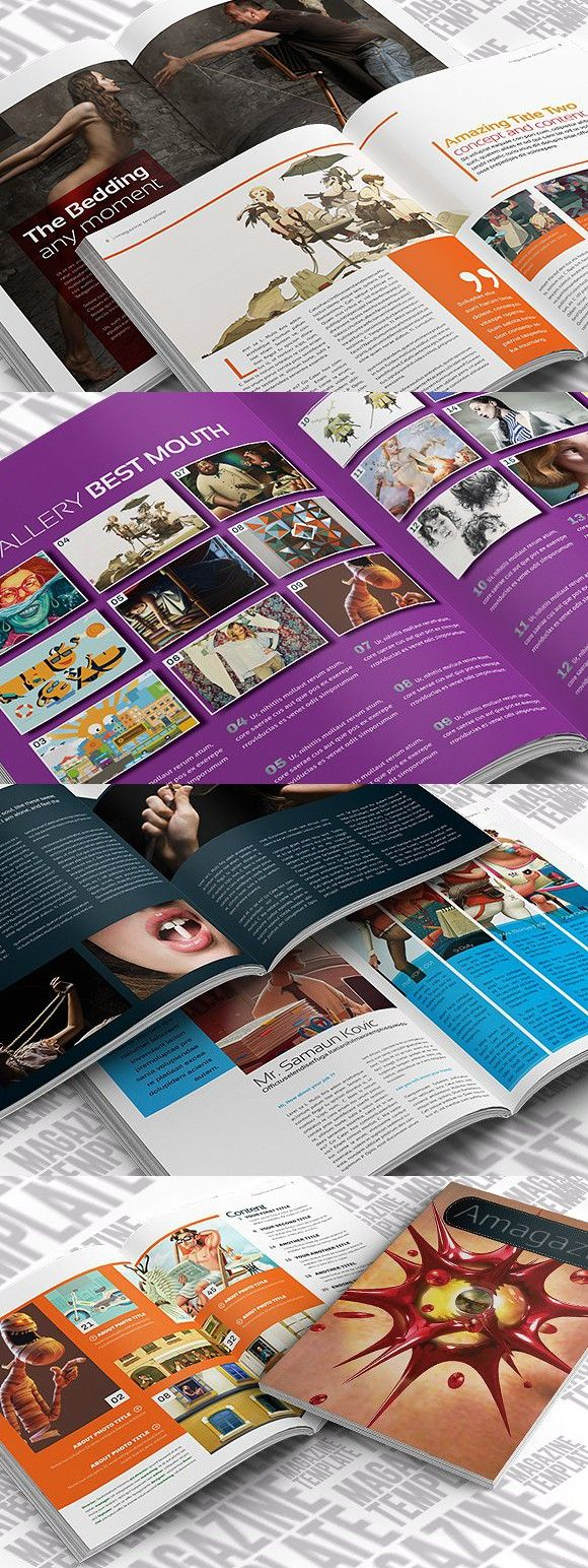 1387 best magazine templates images on pinterest indesign magazine template alramifo Gallery