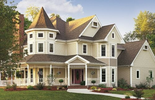 homes with double porches | Design Gallery for remodeling ideas and inspiration, beautiful ...