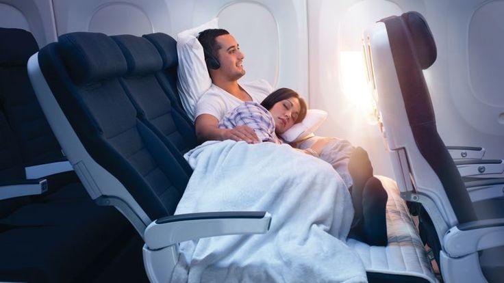 Air New Zealand propose une banquette en classe économique