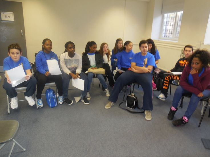 Y&T Teens students discuss about the music video based on the Rights of a Child.