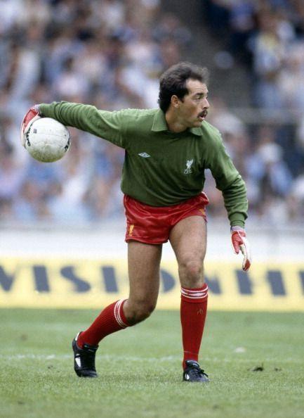 MIlk Cup Final Football Liverpool v Manchester United Liverpool goalkeeper Bruce Grobbelaar