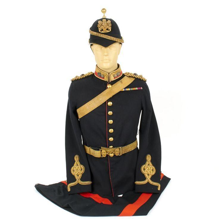 Original British 1900 Royal Artillery Lieutenant Colonel Uniform Set