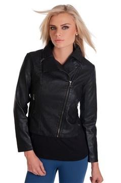 spring jacket, imitation leather ethos-fashion.cz