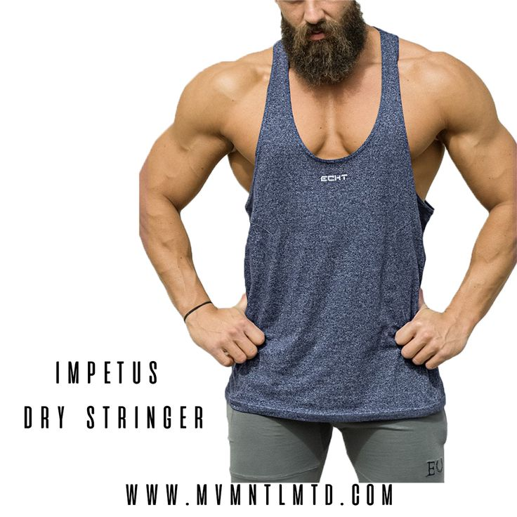 Ft. Echt Apparel Impetus Dry Stringer  -Made with unique Impetus Dry fabric -Ultra-lightweight fabric blend -Moisture-Wicking technology -Tapered stitching details  SHOP NOW! (Link in bio) stringer mens fashion muscle ----- ✅Follow Facebook: MVMNT. LMTD Worldwide shipping  mvmnt.lmtd  mvmnt.lmtd@gmail.com | Fitness Gym Fitspiration Gym Apparel Workout Bodybuilding Fitspo Yoga Abs Weightloss Muscle Exercise yogapants Squats