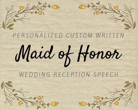 Custom speech writers