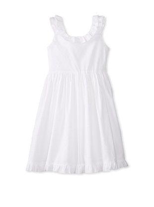 57% OFF Isabel Garreton Girl's Ruffled Dress (White)