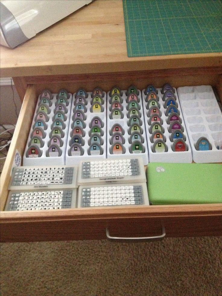 423 best craft room organization ideas images on pinterest for Cricut mini craft room
