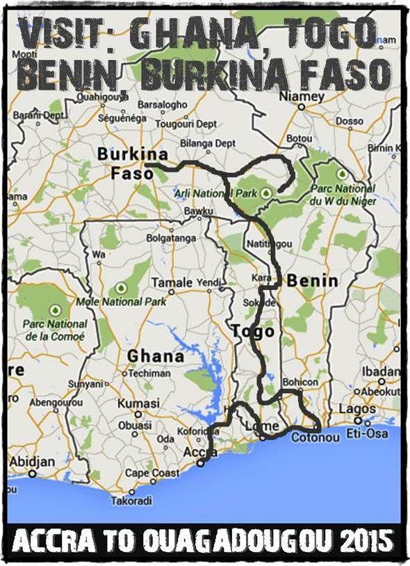 Our overland adventure trip between Accra, Ghana and Ouagadougou, Burkina Faso www.overlandingwestafrica.com/ouagadougoutoaccra