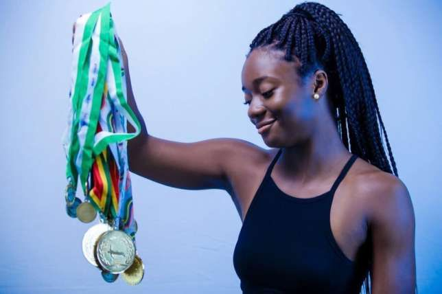 Ghanaian swimmer Ophelia Swayne still holds grudges from her inability to participate in last month's Olympic Games.