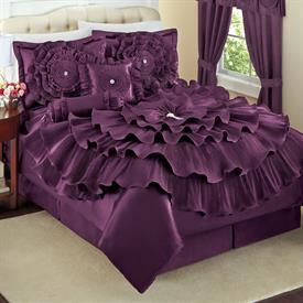 WIN IT! Make a  colorful statement with this Romance Bed 5-Pc Comforter Set Collection.