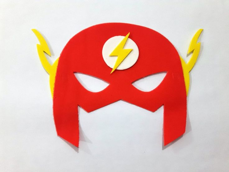 máscara eva flash super heróis 30 pçs