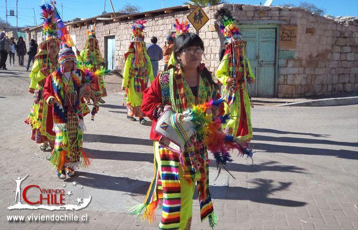 Danzas tipicas en Toconao