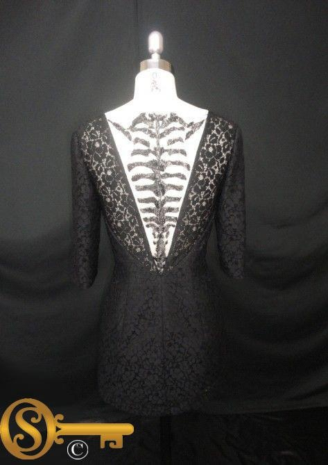 SKELLETON  AVAILABLE NOW IN SZ 6   $390    Can be custom made to fit just you at Secrettopia.