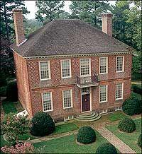 Lightfoot House, Williamsburg, Virginia, c.1730-1750.