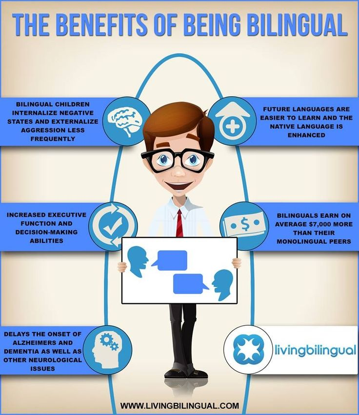 Benefits of Being Bilingual. Don't forget to visit: www.emilieslanguages.com or https://www.facebook.com/emilieslanguages #emilieslanguages