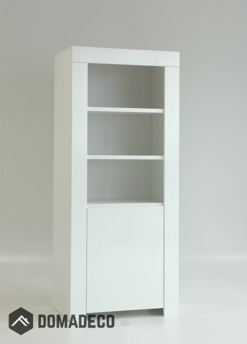 Display cabinet Amalfi - affordable modern furniture Cheap black - Cheap Black Furniture