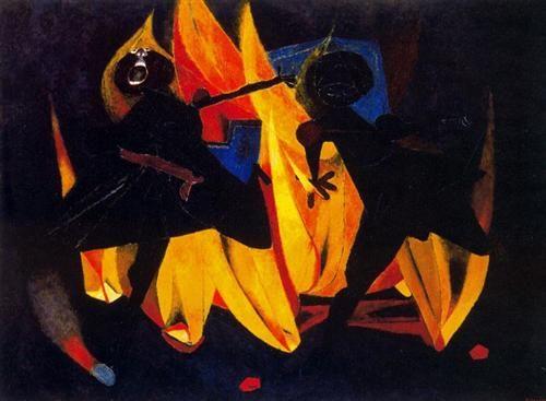 Ninos jugando con fuego - Rufino Tamayo