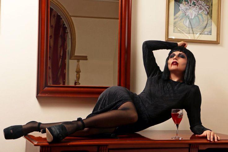My Halloween Look. New post on blog www.kristinazavarski.com