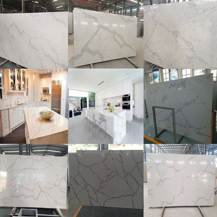 Calacatta White Quartz, The Most Beautiful Marble Looking Quartz Slabs And  Countertops, Matching Color