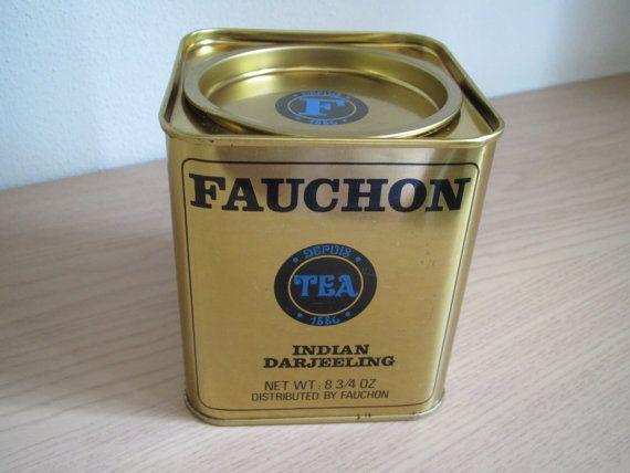 Fauchon Tea Tin