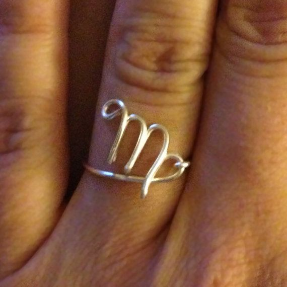Hey, I found this really awesome Etsy listing at https://www.etsy.com/listing/158677156/zodiac-sign-ring-virgo