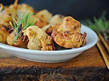 Baccala con patate al forno, secondo semplice e gustoso, con spezie indiane, ricetta con baccalà, facile da preparare, ottima idea per la cena, pesce al forno
