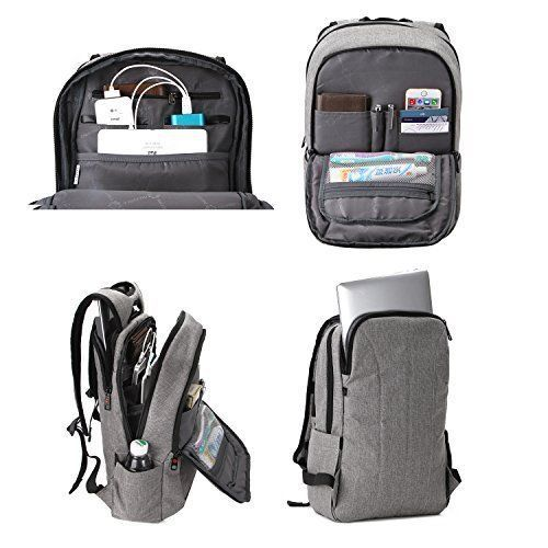 Laptop Backpack School College Business Travel Anti Thief Tear Water Resistant #LaptopBackpackSchool #Backpack