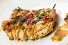 Pollo al burro di arachidi - Ricetta con step fotografici