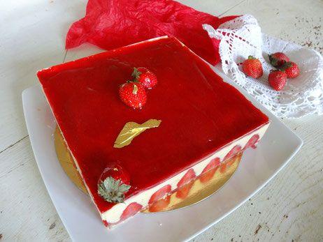 Fraisier - torta francese alle fragole - Pâtisserie Traditionnelle