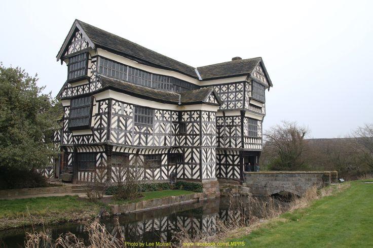 Little Morton Hall, Cheshire, England.