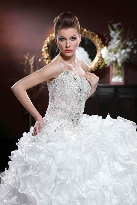 White peacock dress - photo#35