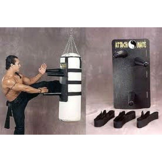 Turn your existing weight bag into a dummy trainer for fight training! Great way to save