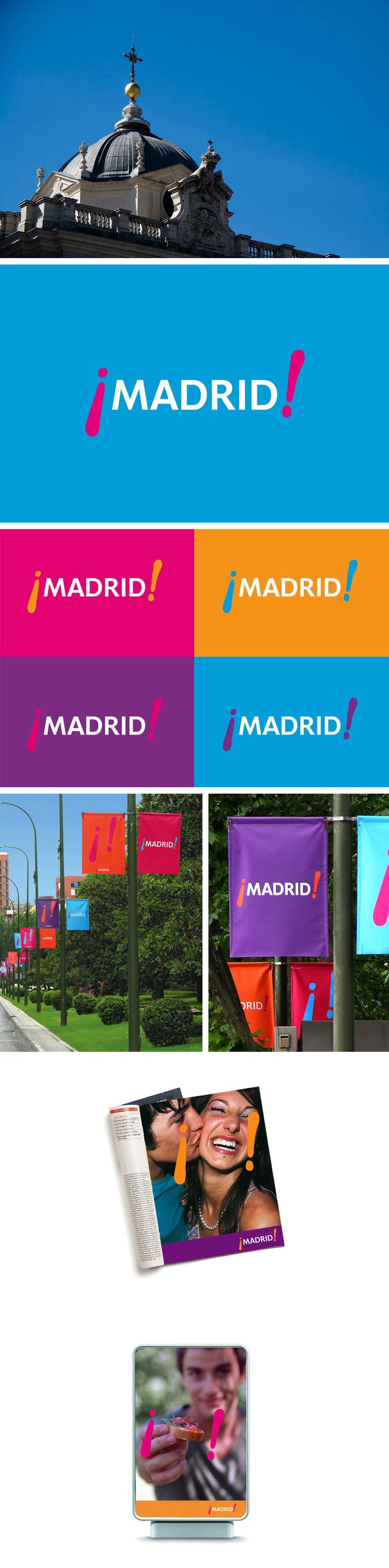 Branding Madrid, Spain, by Landor #city_brand 2012