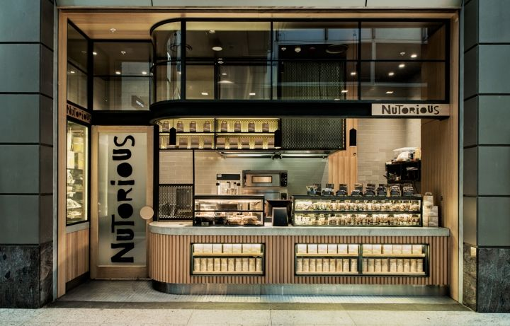 Nutorious snack bar sydney by Luchetti Krelle