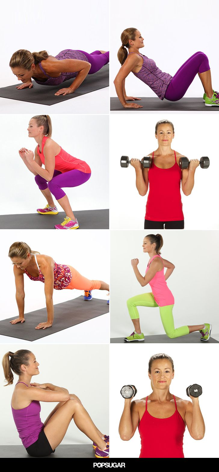 If you learn these right strength training exercises, you'll be able to do a solid workout routine just about anywhere.